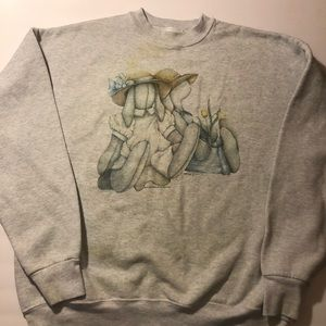 Vintage 1988 Best Bunnies Crewneck Sz XL